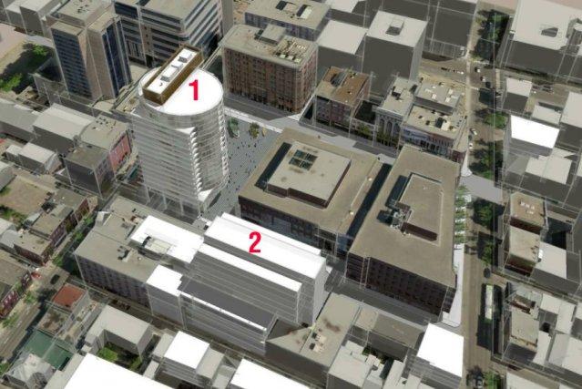 La Place Jacques-Cartier, où la Ville envisage d'accepter... (Image fournie par la Ville de Québec)