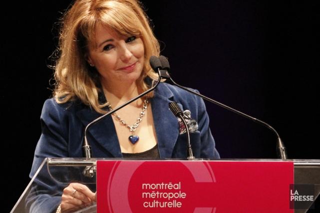 Élaine Ayotte... (Photo: Martin Chamberland, La Presse)