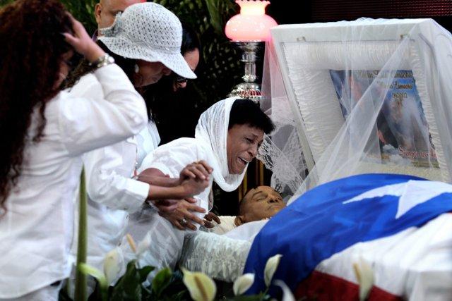 Maria Matias, la mère du boxeur Hector Camacho,... (Photo: Reuters)