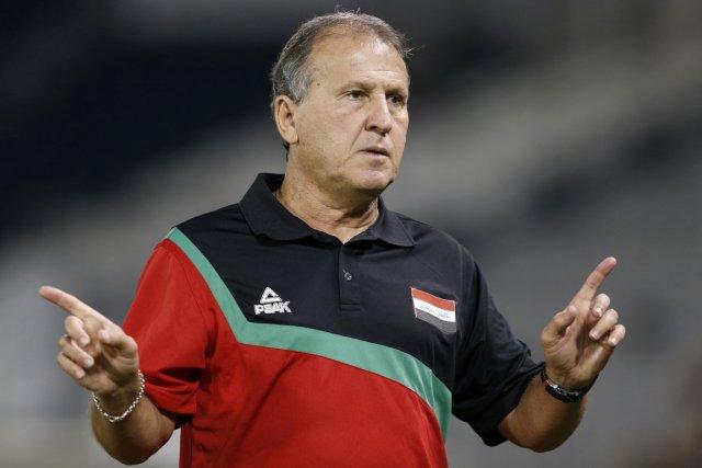 L'entraîneur brésilien Zico était le sélectionneur de l'équipe... (Photo: Reuters)