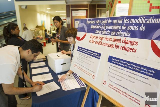 Tous les demandeurs d'asile n'ont pas un droit garanti de couverture des soins... (Photo archives La Presse)