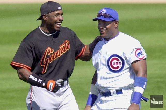 Barry Bonds et Sammy Sosa seront-ils admis au... (Photo: archives AP)