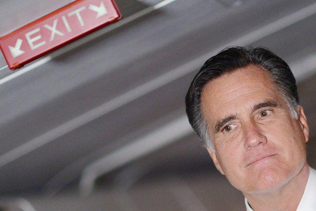Le candidat malheureux à la présidentielle américaine du... (PHOTO EMMANUEL DUNAND, AFP)