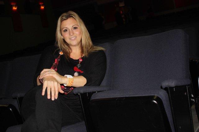 La directrice générale de Diffusion Momentum, Roxanne Genest,... (La Tribune, Yanick Poisson)