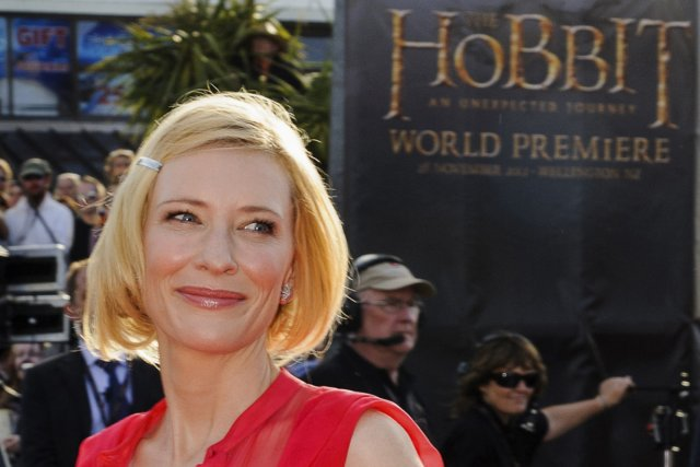 Cate Blanchett à la première de The Hobbit:... (Photo: Reuters)