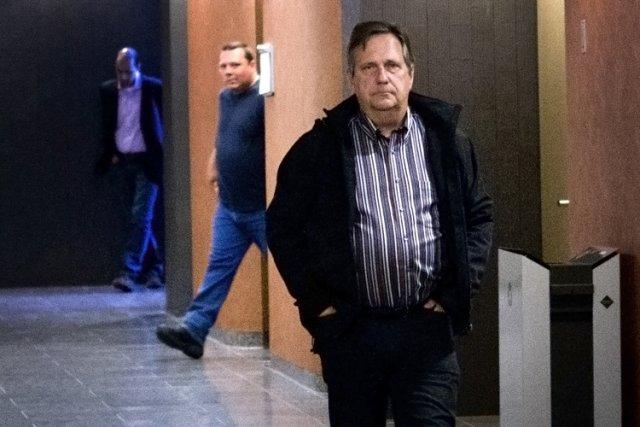 Gilles Parent en cour en septembre dernier.... (Photo: Marco Campanozzi, La Presse)