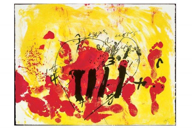 Antoni Tàpies, Sans titre (1972). De la série... (Photo: fournie par le Musée des beaux-arts de Montréal)
