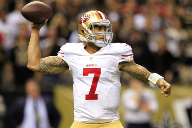 Colin Kaepernick... (Photo: Reuters)