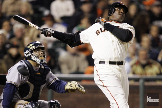 Barry Bonds est le meilleur frappeur de circuits... (Photo: AP)