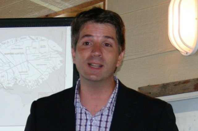 Jean-François Fortin, député de Haute-Gaspésie-La Mitis-Matane-Matapédia... (Photo collaboration spéciale Carl Thériault)