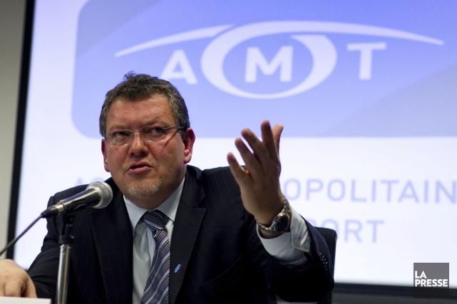 L'ex-PDG de l'AMT, Joël Gauthier.... (Photo Hugo-Sébastien Aubert, archives La Presse)