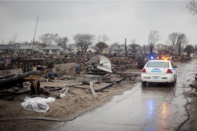 Le soir où Sandy a balayé New York,... (PHOTO FRANÇOIS PESANT, COLLABORATION SPÉCIALE)