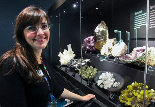 Nicole Dupuis, conceptrice du contenu d'expositions au Musée... (Patrick Woodbury, LeDroit)