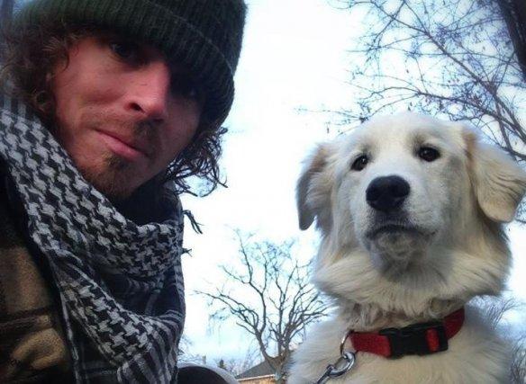Guillaume a retrouvé son chien... (Courtoisie)