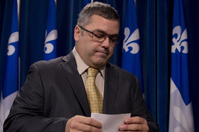 Daniel Breton démissionne de son poste de ministre.... (Photo La Presse Canadienne)