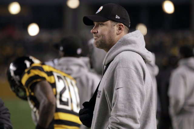 Le quart des Steelers de Pittsburgh, Ben Roethlisberger.... (Photo: AP)