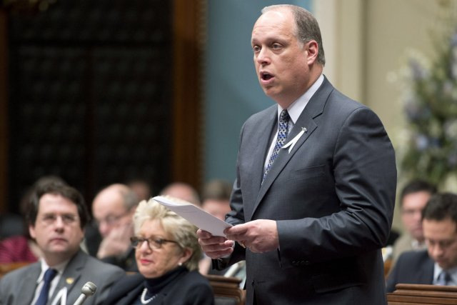 Le ministre de la Sécurité publique, Stéphane Bergeron,... (PHOTO JACQUES BOISSINOT, LA PRESSE CANADIENNE)