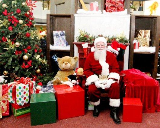 Des questions pour le père Noël? Écrivez-lui à... (Photo fournie par le Complexe Desjardins)
