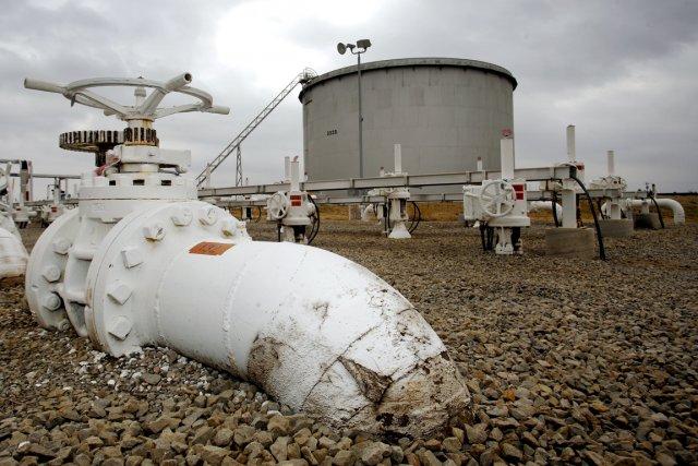 Dans sa demande, Enbridge précise qu'elle utilisera l'oléoduc... (Photo Shane Bevel, archives Bloomberg News)