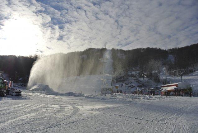 Ski Bromont lance officiellement sa saison aujourd'hui. La... (photo fournie Ski Bromont)
