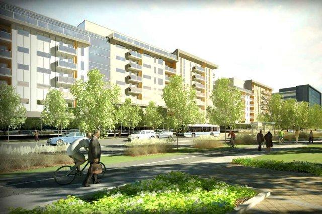 Un aperçu du projet de revitalisation du quartier... (Image fournie par la Ville de Québec)