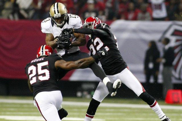 Les Falcons d'Atlanta se sont rapidement forgé une avance de 17-0 et leur... (Photo Reuters)