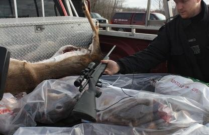 La vaste opération qui a mené 110 agents de la protection de la faune sur 35... (La Tribune, Yanick Poisson)