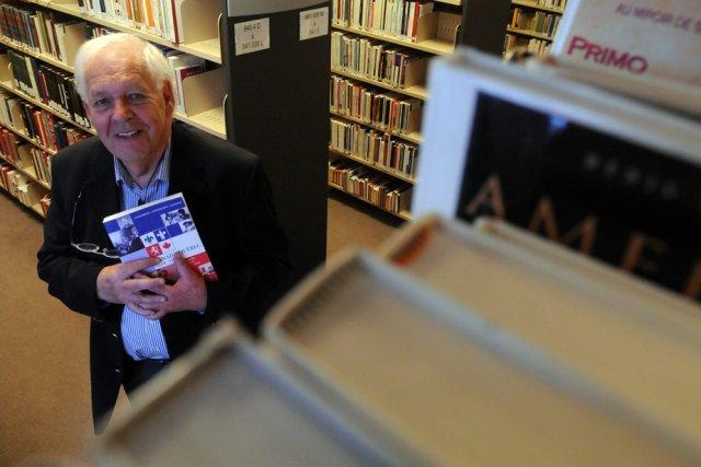 C'est à la Bibliothèque Gatien-Lapointe de Trois-Rivières que... (Photo: François Gervais)