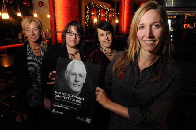 La campagne de sensibilisation au VIH a été... (Photo: François Gervais)