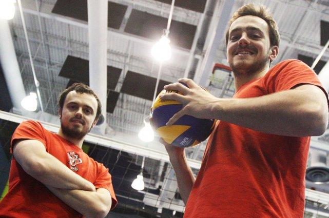 Les frères Christopher (à gauche) et Nicholas Hoag... (Étienne Ranger, LeDroit)