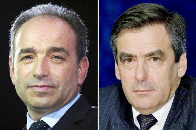 Jean-François Copé (à gauche) et François Fillon (à... (PHOTOS AFP)