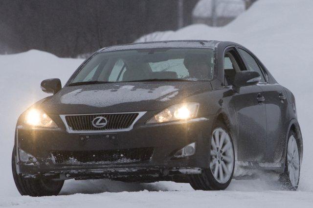 La Lexus IS a déjà fait l'objet d'un... (Photo : David Boily, archives La Presse)