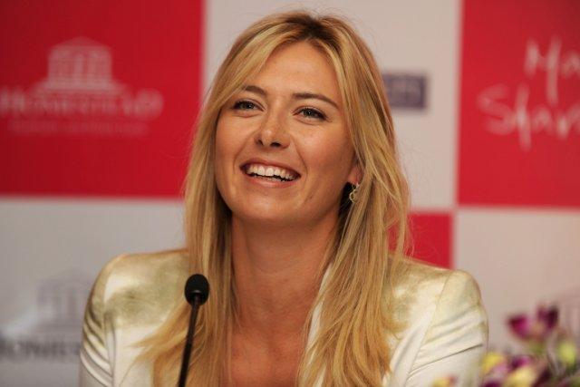Maria Sharapova disputera un tournoi hors-concours à Milan,... (Photo: AFP)