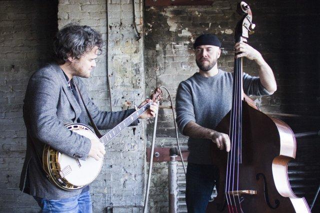 Thomas Hellman (à gauche, en compagnie de Sage... (Photo: Ninon Pednault, La Presse)