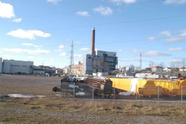 Les équipements de l'usine Gaspésia sont présentement entreposés... (Collaboration spéciale Gilles Gagné)