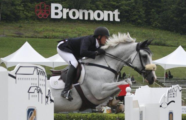 Le Parc équestre Bromont s'est fait la main... (photo Alain Dion, archives la Voix de l'Est)