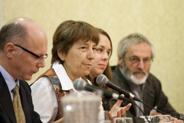Françoise David... (PHOTO NINON PEDNAULT, LA PRESSE)
