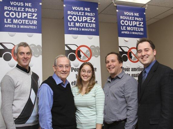 La campagne Coupez le moteur a été lancée... (photo Alain Dion)