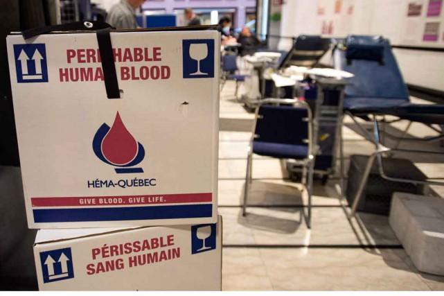Héma-Québec est à la recherche de nouveaux donneurs de plasma dans la région de... (PHOTO ARCHIVES LA PRESSE CANADIENNE)