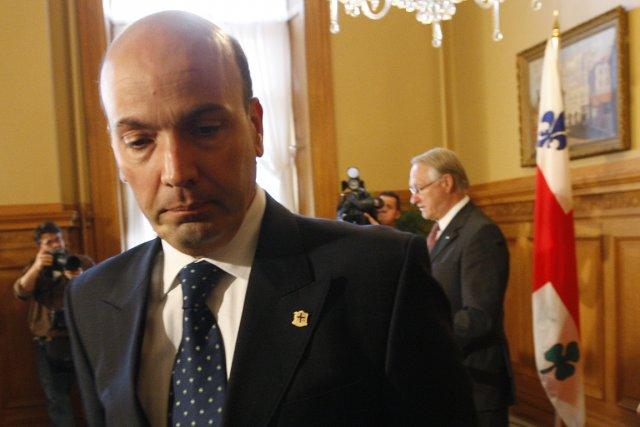 Frank Zampino aura été maire de Saint-Léonard et... (PHOTO MARTIN CHAMBERLAND, LA PRESSE)