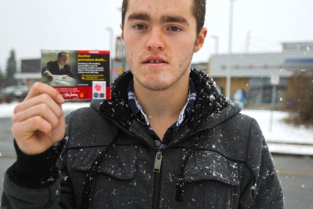 À la demande du Droit, Shawn Grégoire, 16... (Patrick Woodbury, LeDroit)