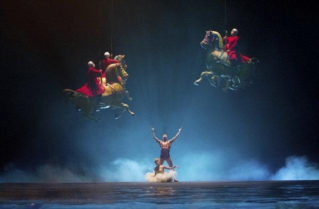 Ça aurait pu être un film documentaire en 3D sur le Cirque du Soleil, mais les... (Photo fournie par la production.)