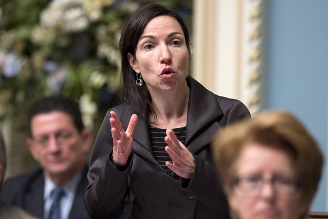 La ministre des Ressources naturelles, Martine Ouellet... (Photo: PC)