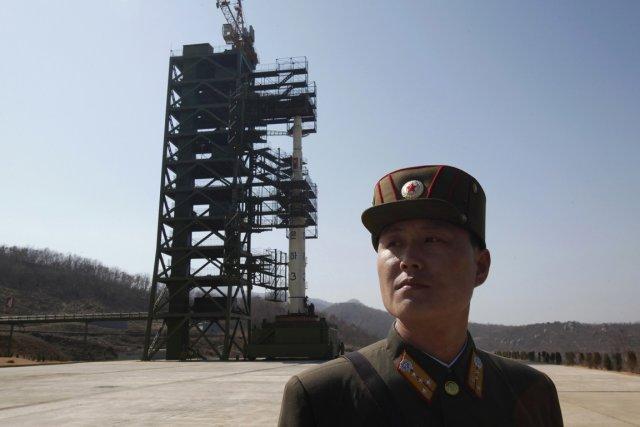 En avril, la Corée du Nord avait échoué... (Photo : Bobby Yip, archives Reuters)