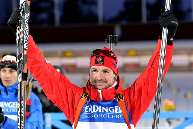 Jean-Philippe Le Guellec est le premier Canadien à... (Photo : Anders Wiklund, AFP)