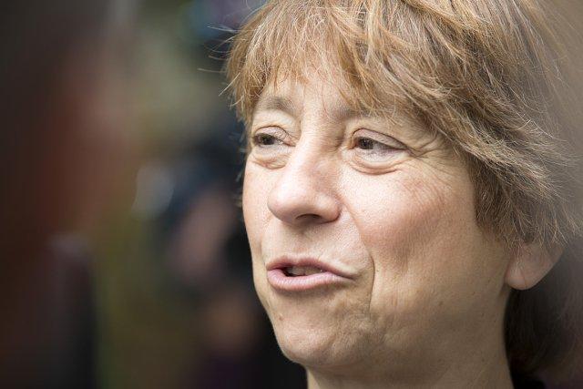 Françoise David, députée et co-porte-parole de Québec solidaire.... (Photo: Olivier PontBriand, La Presse)