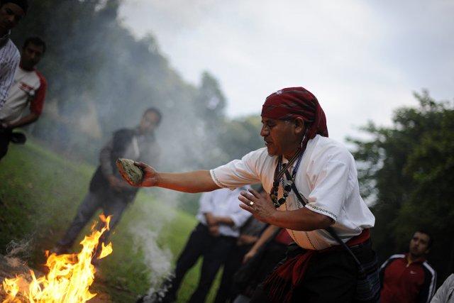 Fin du monde ou pas, le 13e baktun'... (Photo: AFP)
