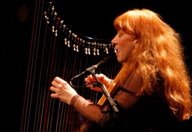 Loreena McKennitt est passée de la harpe à... (Simon Séguin-Bertrand, LeDroit)
