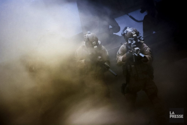 Une scène de Zero Dark Thirty... (Columbia Pictures)