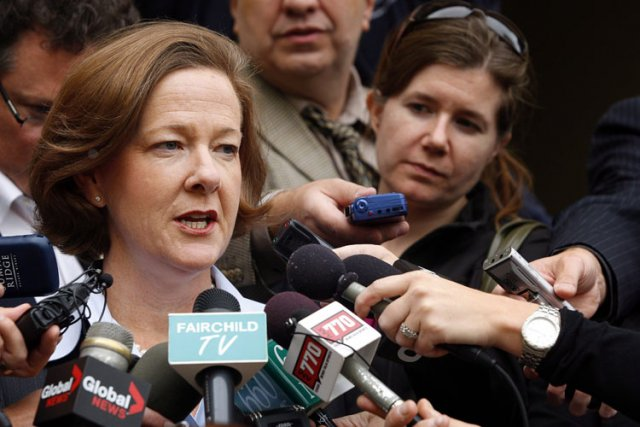 Alison Redford... (Photo: PC)
